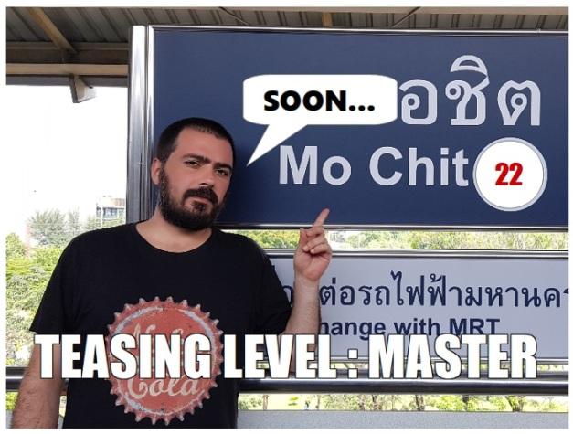 TEASING LEVEL MASTER